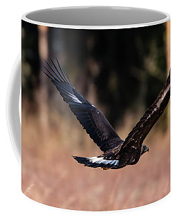 Golden Eagle Flying Coffee Mug by Torbjorn Swenelius
