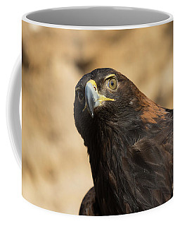 Golden Eagle Keeps Watch Coffee Mug