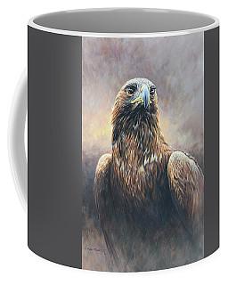 Golden Eagle Portrait Coffee Mug