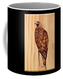 Golden Eagle Coffee Mug by Ron Haist