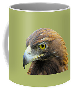 Coffee Mug featuring the photograph Golden Eagle by Shane Bechler