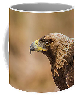 Golden Eagle's Portrait Coffee Mug