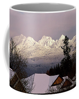 Coffee Mug featuring the photograph Golden Ears Mountain View by Sharon Talson