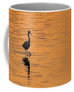 Golden Egret Coffee Mug
