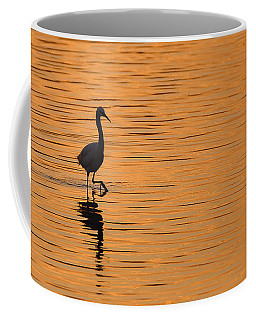 Golden Egret Coffee Mug