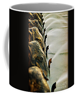 Golden Elephant Fountain Coffee Mug