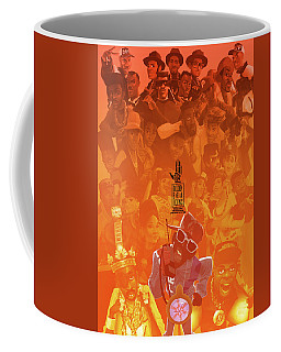 Golden Era Icons Collage 1 Coffee Mug by Nelson dedos Garcia