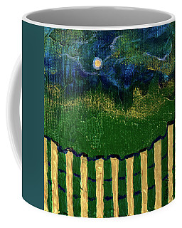 Golden Evening Coffee Mug by Donna Blackhall
