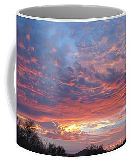 Golden Eye Landing In The Desert Coffee Mug