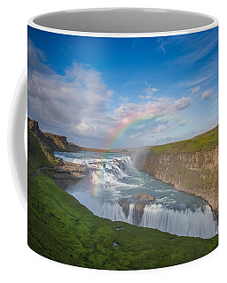 Golden Falls, Gullfoss Iceland Coffee Mug