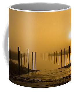 Golden Fog On The Nissequogue Coffee Mug