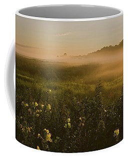 Golden Fog Sunrise At The Refuge Coffee Mug