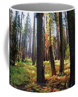 Golden Forest Bed Coffee Mug