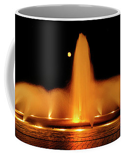 Coffee Mug featuring the photograph Golden Fountain by Howard Bagley