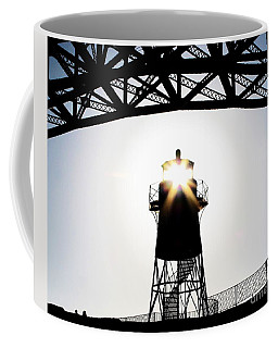 Golden Gate Above Fort Point Coffee Mug