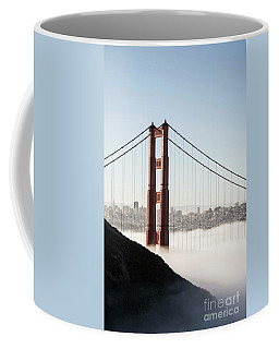 Coffee Mug featuring the photograph Golden Gate And Marin Highlands by David Bearden