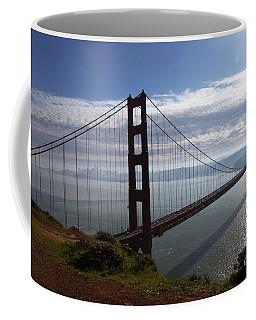 Coffee Mug featuring the photograph Golden Gate Bridge-2 by Steven Spak