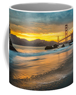 Golden Gate Bridge After Sunset Coffee Mug