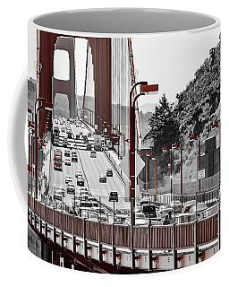 Golden Gate Bridge Street View Coffee Mug