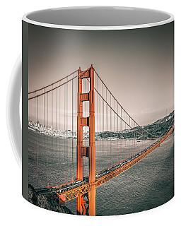 Golden Gate Bridge Selective Color Coffee Mug