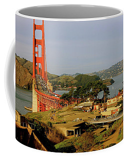 Golden Gate Bridge Sfcalifornia Coffee Mug by Lorna Maza
