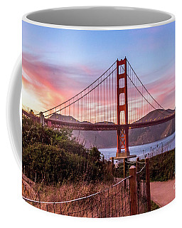Golden Gate Bridge Sunset Coffee Mug