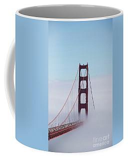 Coffee Mug featuring the photograph Golden Gate Fogged - 3 by David Bearden