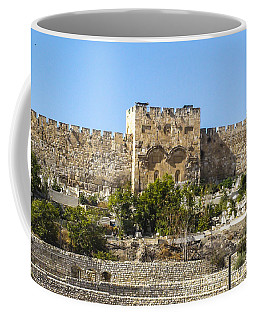 Golden Gate Jerusalem Israel Coffee Mug
