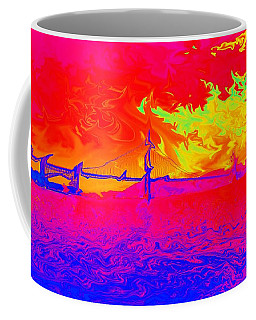 Golden Gate Mod Pop Coffee Mug