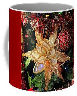 Golden Glitter Christmas Ornaments Coffee Mug
