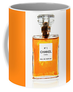 Golden Glow Of Chanel No. 5 Coffee Mug