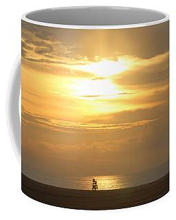 Coffee Mug featuring the photograph Golden Glow by Robert Banach