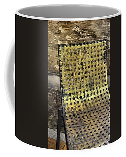 Golden Grid Coffee Mug by JAMART Photography