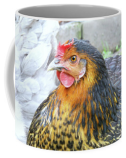 Golden Hen Coffee Mug by Kim Tran