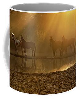 Golden Herd Coffee Mug