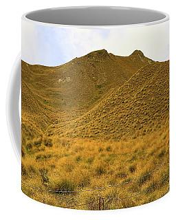 Coffee Mug featuring the photograph Golden Hillside by Nareeta Martin
