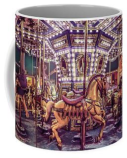 Golden Hobby Horse Coffee Mug