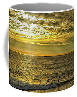 Golden Hour At Seal Beach Coffee Mug by Tom Kelly