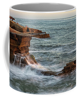 Golden Hour At Sunset Cliffs Coffee Mug