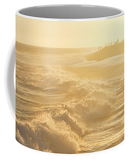 Golden Hour At The Wedge Coffee Mug