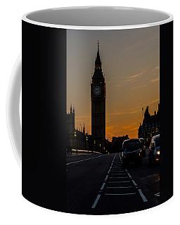 Golden Hour Big Ben In London Coffee Mug