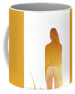 Golden Hour Girl Coffee Mug