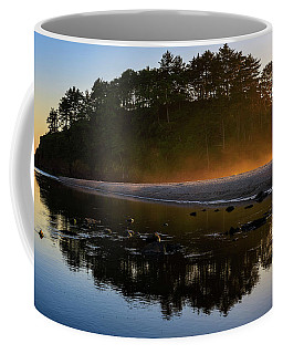 Golden Hour Haze At Proposal Rock Coffee Mug