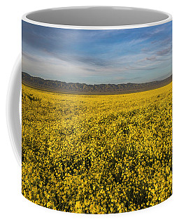 Golden Hour On The Plain Coffee Mug