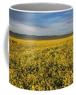 Golden Hour On The Plain Coffee Mug