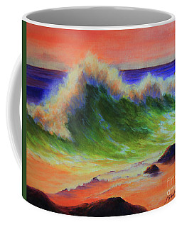 Golden Hour Sea Coffee Mug