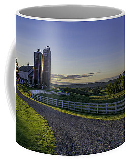 Golden Hour Silos Coffee Mug