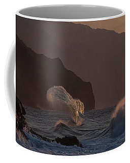 Golden Hour Wave Coffee Mug