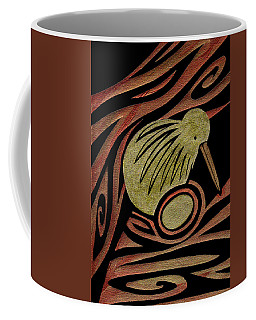 Golden Kiwi Coffee Mug