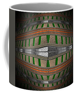 Golden Lava Ball Coffee Mug